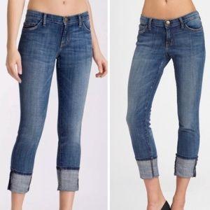 Current/Elliott Beatnik Rolled Cuff Skinny Jeans
